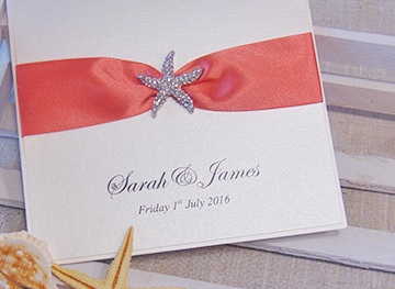 Beach theme collection Quills Wedding Stationery