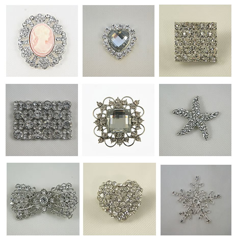 Crystal embellishments