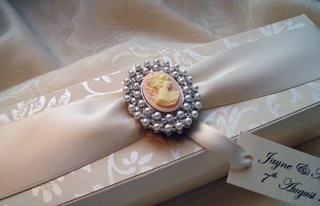 Quills Wedding Stationery wedding certificate box