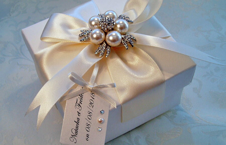 Quills Wedding Stationery gift box