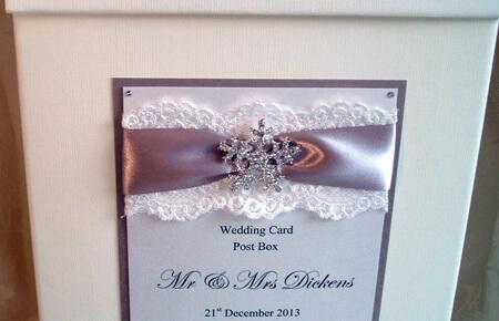 Quills Wedding Stationery post box