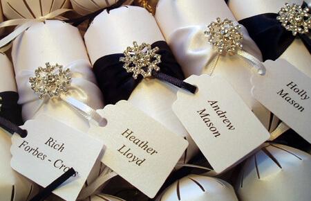 Quills Wedding Stationery wedding crackers