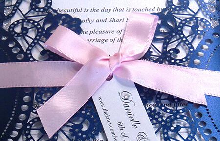 Quills Wedding Stationery wedding invitation